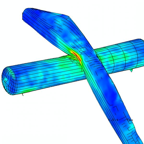 Failure Prediction of a Liquid Gas Tank Wagon at Wind Turbine Blade Impact (2006)
